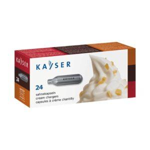 Kayser slagroompatronen 4x24 stuks (96 stuks)